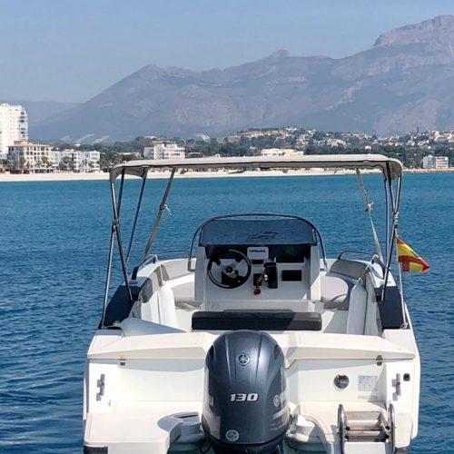 Boat rental altea